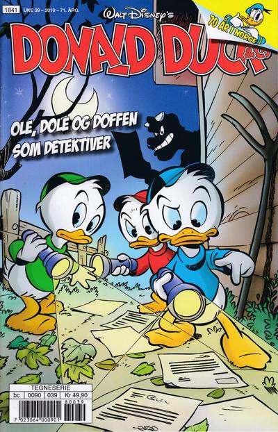 Cover for Donald Duck & Co (Hjemmet / Egmont, 1948 series) #39/2018