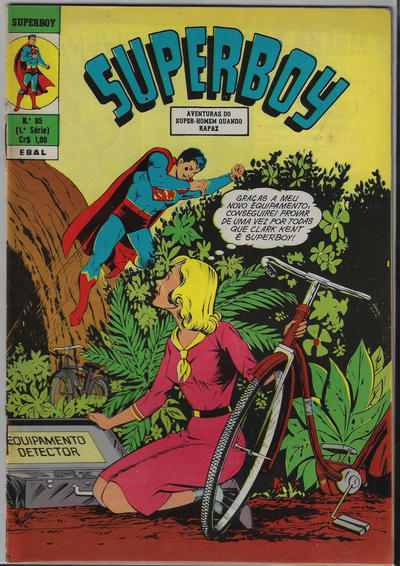 Cover for Superboy (Editora Brasil-América [EBAL], 1966 series) #85