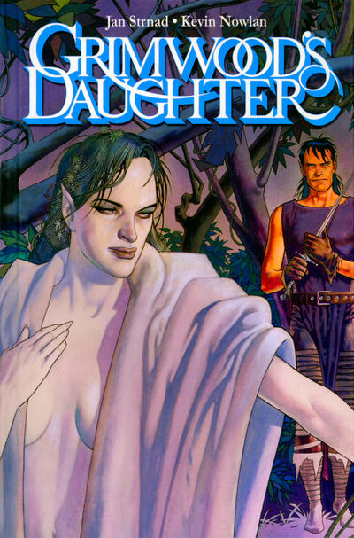 Cover for Grimwood's Daughter (IDW, 2009 series)