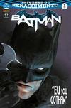 Cover for Batman (Panini Brasil, 2017 series) #1