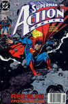 Cover Thumbnail for Action Comics (1938 series) #666 [Newsstand]