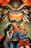 Cover Thumbnail for Action Comics (2011 series) #1000 [Unknown Comics Tyler Kirkham Virgin Cover]