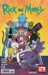 Cover for Rick and Morty (Oni Press, 2015 series) #42 [Cover A - Marc Ellerby]