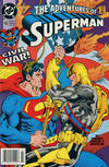 Cover for Adventures of Superman (DC, 1987 series) #492 [Newsstand]