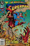 Cover for Adventures of Superman (DC, 1987 series) #493 [Newsstand]