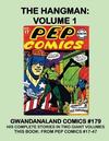 Cover for Gwandanaland Comics (Gwandanaland Comics, 2016 series) #179 - The Hangman: Volume 1