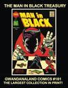 Cover for Gwandanaland Comics (Gwandanaland Comics, 2016 series) #181 - The Man in Black Treasury
