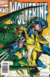 Cover for Wolverine (Marvel, 1988 series) #70 [Newsstand]