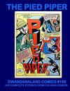 Cover for Gwandanaland Comics (Gwandanaland Comics, 2016 series) #199 - The Pied Piper