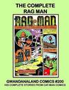 Cover for Gwandanaland Comics (Gwandanaland Comics, 2016 series) #200 - The Complete Rag Man