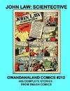 Cover for Gwandanaland Comics (Gwandanaland Comics, 2016 series) #212 - John Law: Scientective