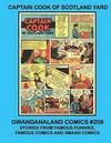 Cover for Gwandanaland Comics (Gwandanaland Comics, 2016 series) #209 - Captain Cook of Scotland Yard