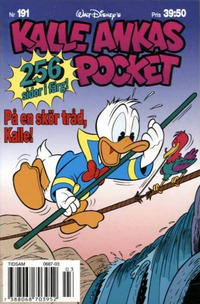 Cover Thumbnail for Kalle Ankas pocket (Serieförlaget [1980-talet], 1993 series) #191 - På en skör tråd, Kalle!
