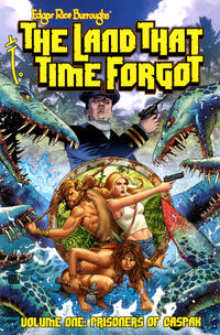 Cover Thumbnail for Edgar Rice Burroughs The Land That Time Forgot (American Mythology Productions, 2018 series) #1 - Prisoners of Caspak