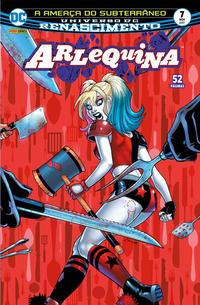 Cover Thumbnail for Arlequina (Panini Brasil, 2017 series) #7