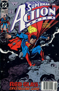 Cover Thumbnail for Action Comics (DC, 1938 series) #666 [Newsstand]