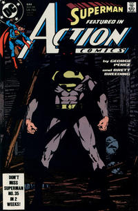 Cover Thumbnail for Action Comics (DC, 1938 series) #644 [Direct]