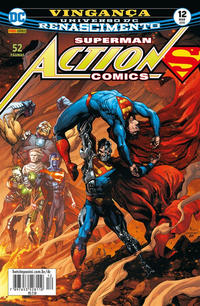 Cover Thumbnail for Action Comics (Panini Brasil, 2017 series) #12