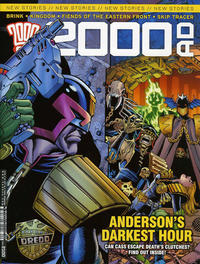 Cover Thumbnail for 2000 AD (Rebellion, 2001 series) #2100