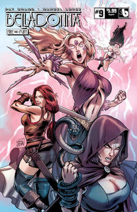 Cover Thumbnail for Belladonna: Fire and Fury (Avatar Press, 2017 series) #9