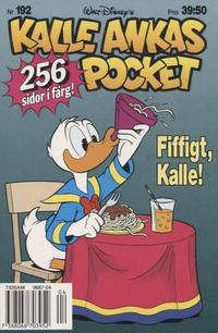 Cover Thumbnail for Kalle Ankas pocket (Serieförlaget [1980-talet], 1993 series) #192 - Fiffigt, Kalle!