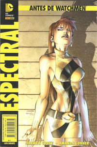 Cover Thumbnail for Antes de Watchmen (Panini Brasil, 2013 series) #2 - Espectral [Capa Variante Jim Lee]