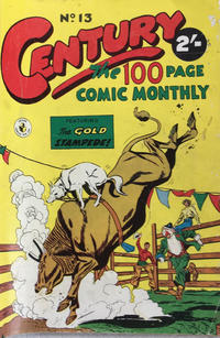 Cover Thumbnail for Century, The 100 Page Comic Monthly (K. G. Murray, 1956 series) #13
