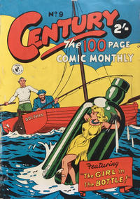 Cover Thumbnail for Century, The 100 Page Comic Monthly (K. G. Murray, 1956 series) #9