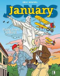 Cover Thumbnail for January Jones (Uitgeverij L, 2017 series) #10 - Flying down to Rio II