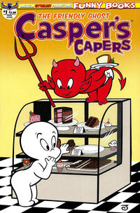 Cover Thumbnail for Casper's Capers (American Mythology Productions, 2018 series) #1 [Main Cover]
