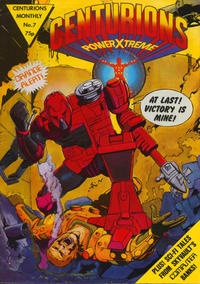 Cover Thumbnail for Centurions PowerXtreme (Egmont UK, 1987 series) #7