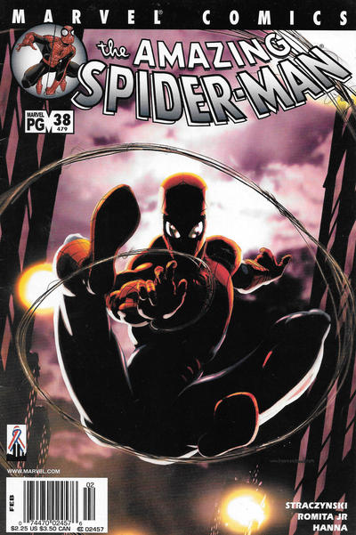 Cover for The Amazing Spider-Man (Marvel, 1999 series) #38 (479) [Direct Edition]