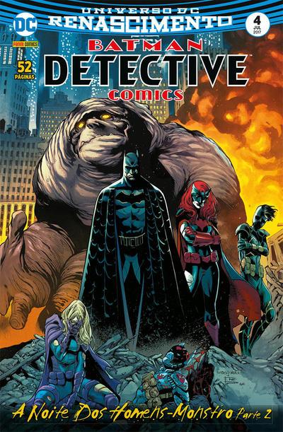 Cover for Detective Comics (Panini Brasil, 2017 series) #4