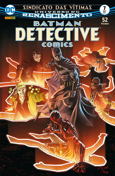 Cover for Detective Comics (Panini Brasil, 2017 series) #7