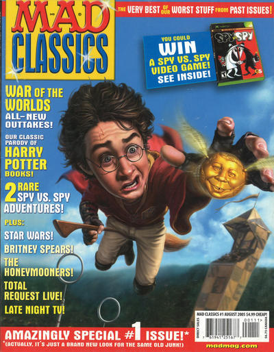 Cover for Mad Classics (EC, 2005 series) #1
