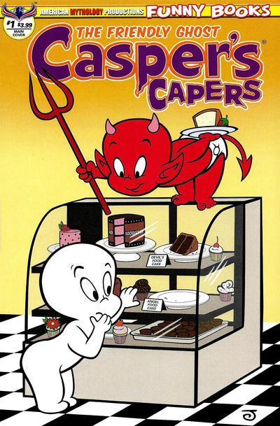 Cover for Casper's Capers (American Mythology Productions, 2018 series) #1 [Retro Cover]
