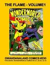 Cover for Gwandanaland Comics (Gwandanaland Comics, 2016 series) #230 - The Flame Volume 1