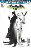 Cover for Batman (DC, 2016 series) #1 [Fried Pie Exclusive Rafael Albuquerque Black and White Variant]
