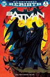 Cover for Batman (DC, 2016 series) #1 [Comic Con Box Exclusive Barry Kitson Color Variant]