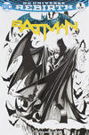 Cover for Batman (DC, 2016 series) #1 [Comic Con Box Exclusive Barry Kitson Black and White Variant]