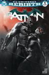 Cover for Batman (DC, 2016 series) #1 [Bulletproof Comics and Games Exclusive Gabriele Dell'Otto Black and White Variant]