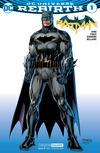 Cover for Batman (DC, 2016 series) #1 [Jim Lee Convention Exclusive]