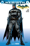 Cover for Batman (DC, 2016 series) #1 [Convention Exclusive Jim Lee Cover]