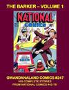 Cover for Gwandanaland Comics (Gwandanaland Comics, 2016 series) #247 - The Barker Volume 1