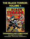 Cover for Gwandanaland Comics (Gwandanaland Comics, 2016 series) #246 - The Black Terror Volume 1