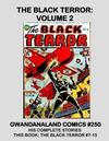 Cover for Gwandanaland Comics (Gwandanaland Comics, 2016 series) #250 - The Black Terror Volume 2