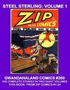 Cover for Gwandanaland Comics (Gwandanaland Comics, 2016 series) #269 - Steel Sterling: Volume 1