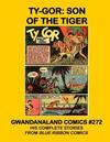 Cover for Gwandanaland Comics (Gwandanaland Comics, 2016 series) #272 - Ty-Gor: Son of the Tiger