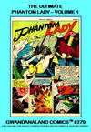 Cover for Gwandanaland Comics (Gwandanaland Comics, 2016 series) #279 - The Ultimate Phantom Lady Volume 1