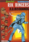 Cover for Rik Ringers (Le Lombard, 1963 series) #31 - K.O. in 9 rounds